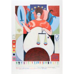La Justice par Sidonie Hollard – Arcane 8 du Tarot