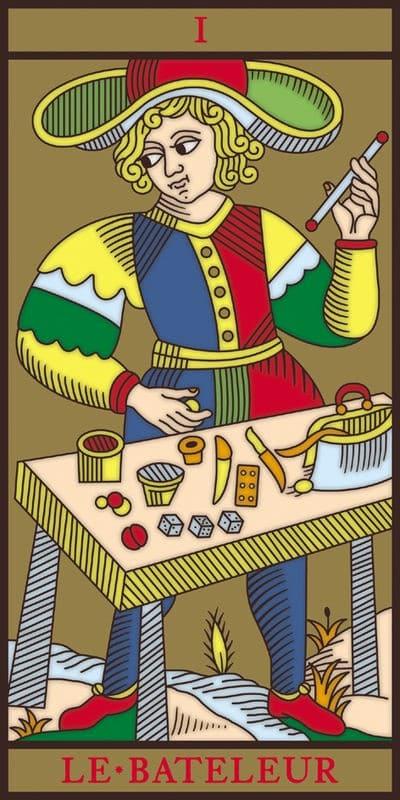 Le bateleur Tarot