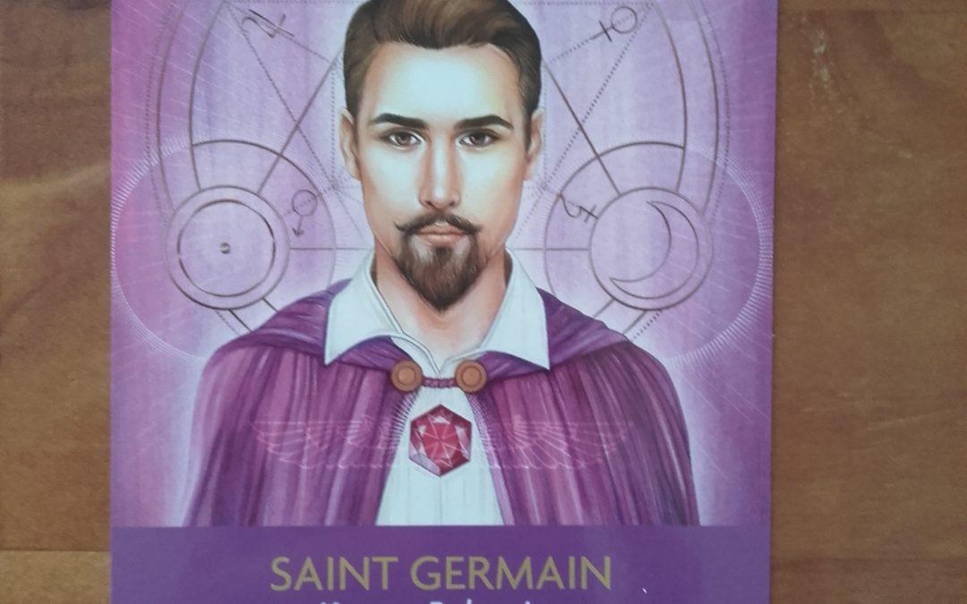 Changer de fréquence : Écriture inspirée de la carte Maître Saint Germain